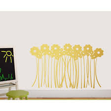 Zoomie Kids Hinson Flower Grass Wall Decal Wayfair