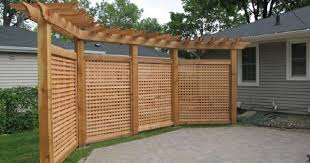 Gates Screens Pergola On Pinterest Arbors Pergolas And Trellis Backyard Privacy Privacy Fence Designs Backyard Patio