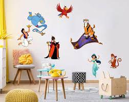 Aladdin Wall Decal Etsy