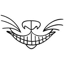 Alice In Wonderland Cheshire Cat Decal Sticker