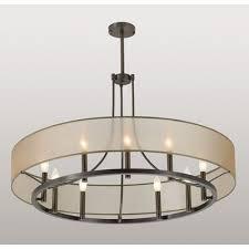ilex ghost 9 light pendant with tubing