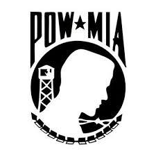 Pow Mia Vinyl Decal Sticker Car Truck Window