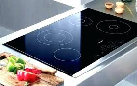 electric cooktops cover hide away