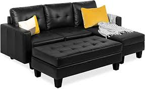 tufted faux leather