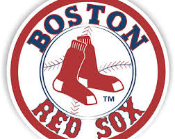 Boston Red Sox Decal Etsy
