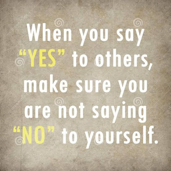 Image result for say yes when you mean yes and no when you mean no