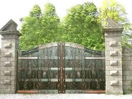 cedar garden gate entrance arbor plans