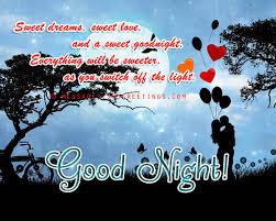 goodnight sweet greetings