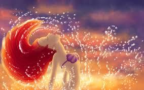 ariel little mermaid desktop background