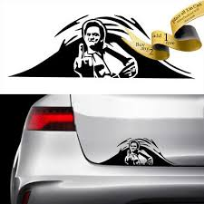 Johnny Cash Fu Trunk Peek Vinyl Decal Sticker Car Jdm Pennywise It Misfits Ebay