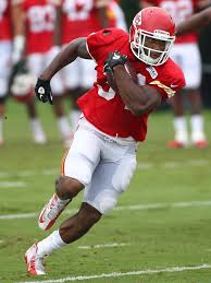 Knile Davis to the brunt of the carries... - The Kansas City ...