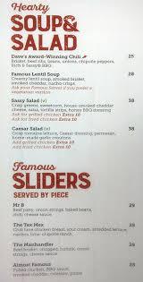 famous dave s barbecue menu menu