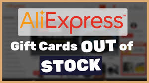 aliexpress pocket gift cards