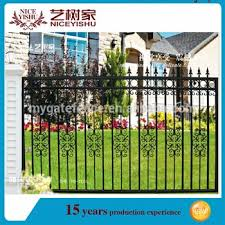 Low Price Wrought Iron Fence Pool Fence Cheap Fence Panels For Sale View Wrought Iron Fence Yishujia Product Details From Shijiazhuang Yishu Metal Products Co Ltd On Alibaba Com