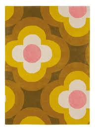 orla kiely rug pulse yellow 060306