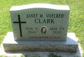 Janet Myrna Voelker Clark (1942-2015) - Find A Grave Memorial