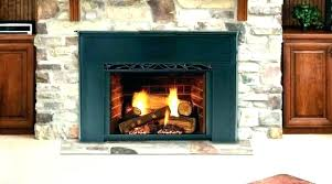 prefab wood burning fireplace