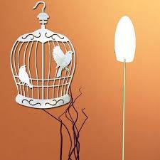 Walplus Birdcage Mirror Wall Art Wall Decal Wayfair