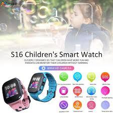 Đồng hồ thông minh có định vị GPS gắn camera giám sát trẻ em giảm chỉ còn  357,000 đ