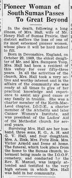 Obituary - Ida Hall - Newspapers.com