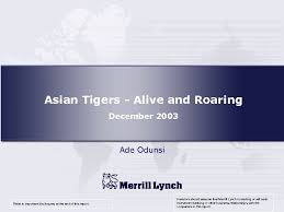 Asian Tigers — Alive and Roaring December 2003