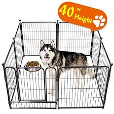 Tooca Dog Pen Indoor 40 Inches Tall Dog Buy Online In India At Desertcart