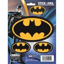 Batman Vinyl Decal Set Walmart Com Walmart Com