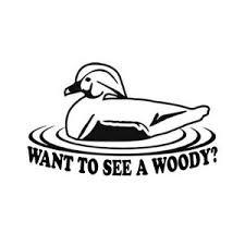 Car Window Decal Truck Outdoor Sticker Hunting Hunt Duck Ducks Wood Woody Funny Ebay