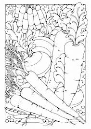 Kleurplaat Groenten Varitystehtavia Adult Coloring Pages Ja Varitys
