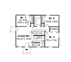 house plan 34020 ranch style with 768