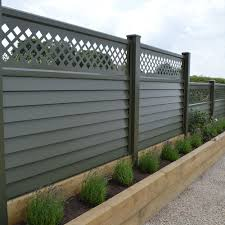Permafence Maintenance Free Metal Garden Fencing Fence Panels