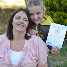 Marske youngster receives rare award in recognition of care she gives mum -  Teesside Live
