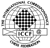 The ICCF logo.