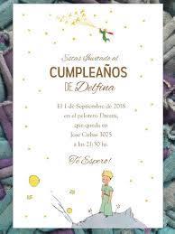 20 Invitacion El Principito Cumpleanos Primer Ano Bautismo 480