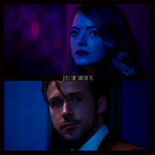 La La Land. Just the two of us. Final scene. Ryan Gosling and Emma Stone.    Preferiresti