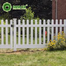 China 4 X 8 Gothic Vinyl Picket Fence Vegetable Garden China White Vinyl Picket Fence White Vinyl Picket Fencing