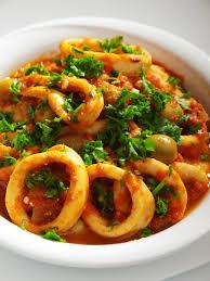 Calamari, Calamari recipes, Seafood recipes