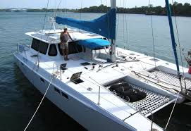 the multihull pany used catamarans