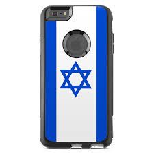 Otterbox Commuter Iphone 6 Plus Case Skin Israel Flag By Flags Decalgirl