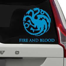 Got House Targaryen Car Decals The Decal Guru