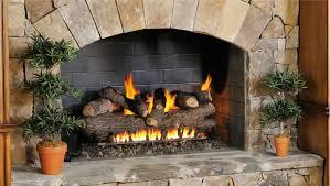 gas fireplace installation gas log