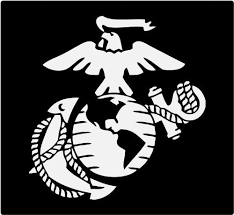 Marine Corps Eagle Globe Anchor White Usmc Car Decal Window Stickers Christopher P Cerdager
