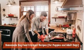 homemade dog food crockpot recipes for