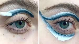 grant eye makeup in one stroke