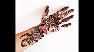 mehndi design on front finger