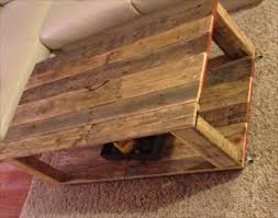 diy pallet wood coffee table wooden