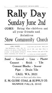 THE COMMUNITY CHURCH NEWS