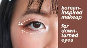 makeup for downturned hooded asian eyes