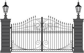 Gate Clipart Black And White Gate Black And White Transparent Free For Download On Webstockreview 2020