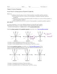 sec 8 1 solving systems of equations